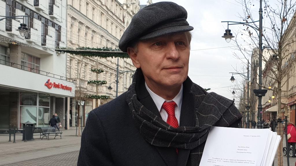 Poseł Włodzimierz Tomaszewski składa projekt ustawy ratującej łódzkie kamienice  - Zdjęcie główne