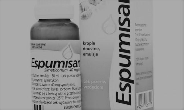 Krople Espumisan – z obrotu wycofano partię leku - Zdjęcie główne