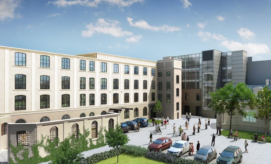 W odnowionej fabryce Meyerhoffa od czerwca dla firm otwiera się Łódź.Work [ZDJĘCIA] - Zdjęcie główne