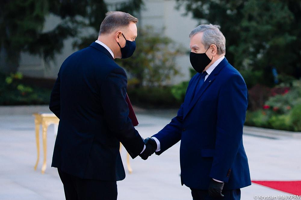 Zmiany w rządzie premiera Morawieckiego. Jaką funkcję ostatecznie objął prof. Piotr Gliński? [ZDJĘCIA | WIDEO] - Zdjęcie główne