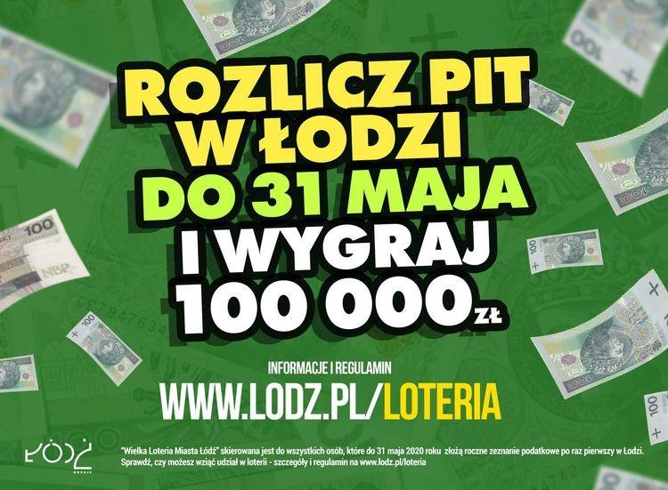 Łódź | Łódź przedłuża Wielką Loterię Podatkową - Zdjęcie główne