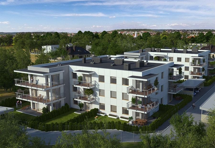 Ogrody nad Jasieniem. Komfortowe mieszkania na łódzkim Rokiciu [ZOBACZ WIDEO] - Zdjęcie główne
