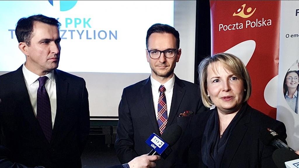 Pracownicze Plany Kapitałowe i Pocztylion-Arka PTE S.A. - prezentacja programu w Łodzi [WIDEO] - Zdjęcie główne
