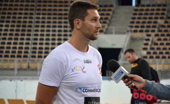 Zmiany w ŁKS-ie Commercecon. Michal Mašek zastępuje na stanowisku trenera Giuseppe Cuccariniego - Zdjęcie główne