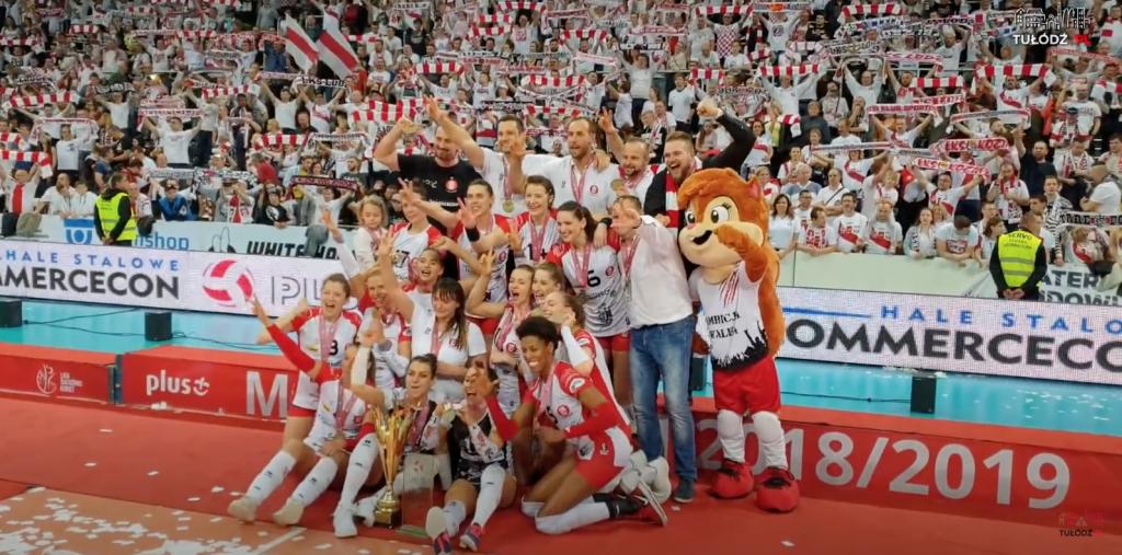 ŁKS Commercecon został mistrzem Polski równo rok temu! [WIDEO] - Zdjęcie główne