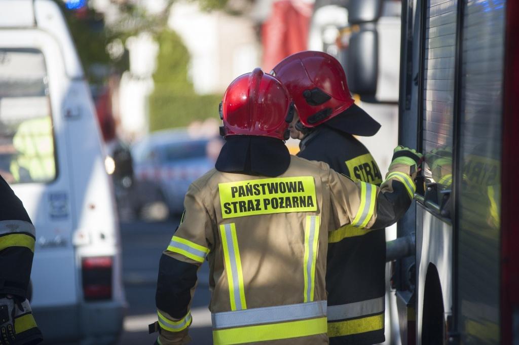 Pożar przy ul. Florecistów w Łodzi. Zginęła kobieta - Zdjęcie główne