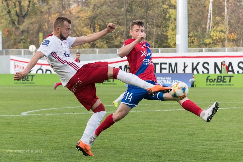 ŁKS spadł, ale jego napastnik może zostać w Ekstraklasie - Zdjęcie główne