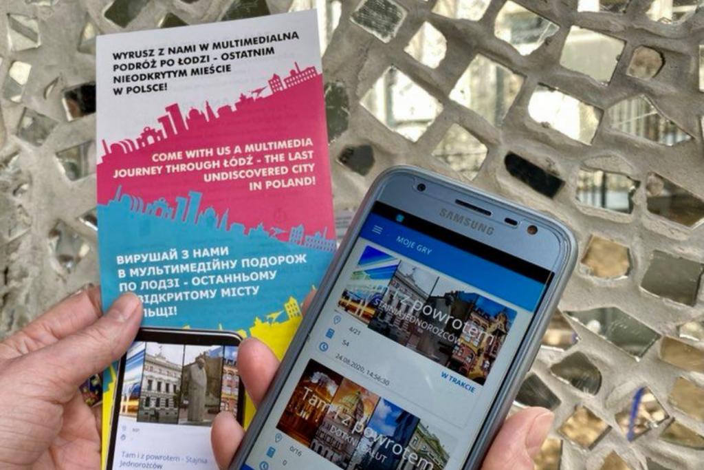Zwiedzić Łódź po polsku, angielsku i ukraińsku? Sprytny sposób na poznanie miasta bez narażania zdrowia - Zdjęcie główne