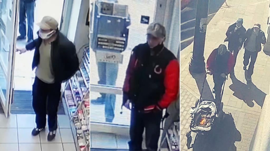 Ukradli kartę i dokonywali płatności w centrum Łodzi. Rozpoznajesz? Poszukuje ich policja [ZDJĘCIA] - Zdjęcie główne