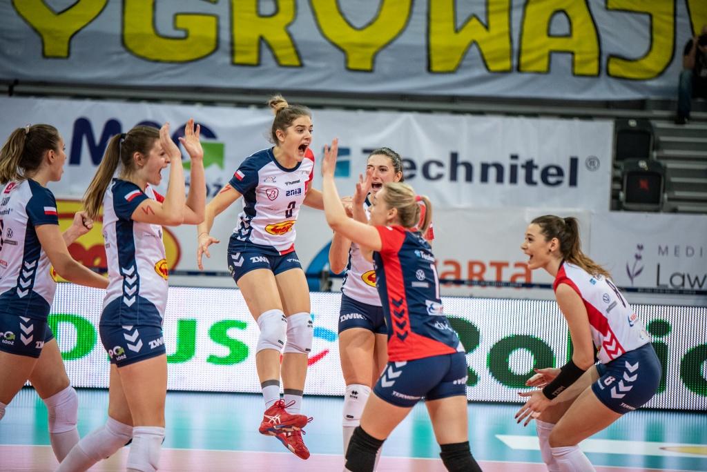 Kolejne, szóste już zwycięstwo z rzędu! Tym razem Grot Budowlane lepsze od Pałacu Bydgoszcz  - Zdjęcie główne