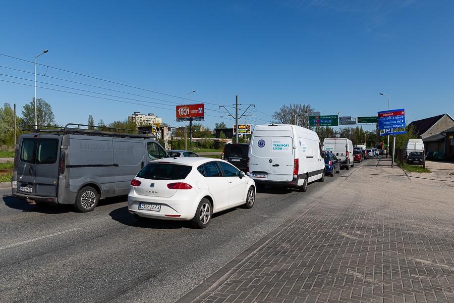 Korki Łódź. Sprawdź, co dzieje się na łódzkich drogach [07.09.2021] - Zdjęcie główne
