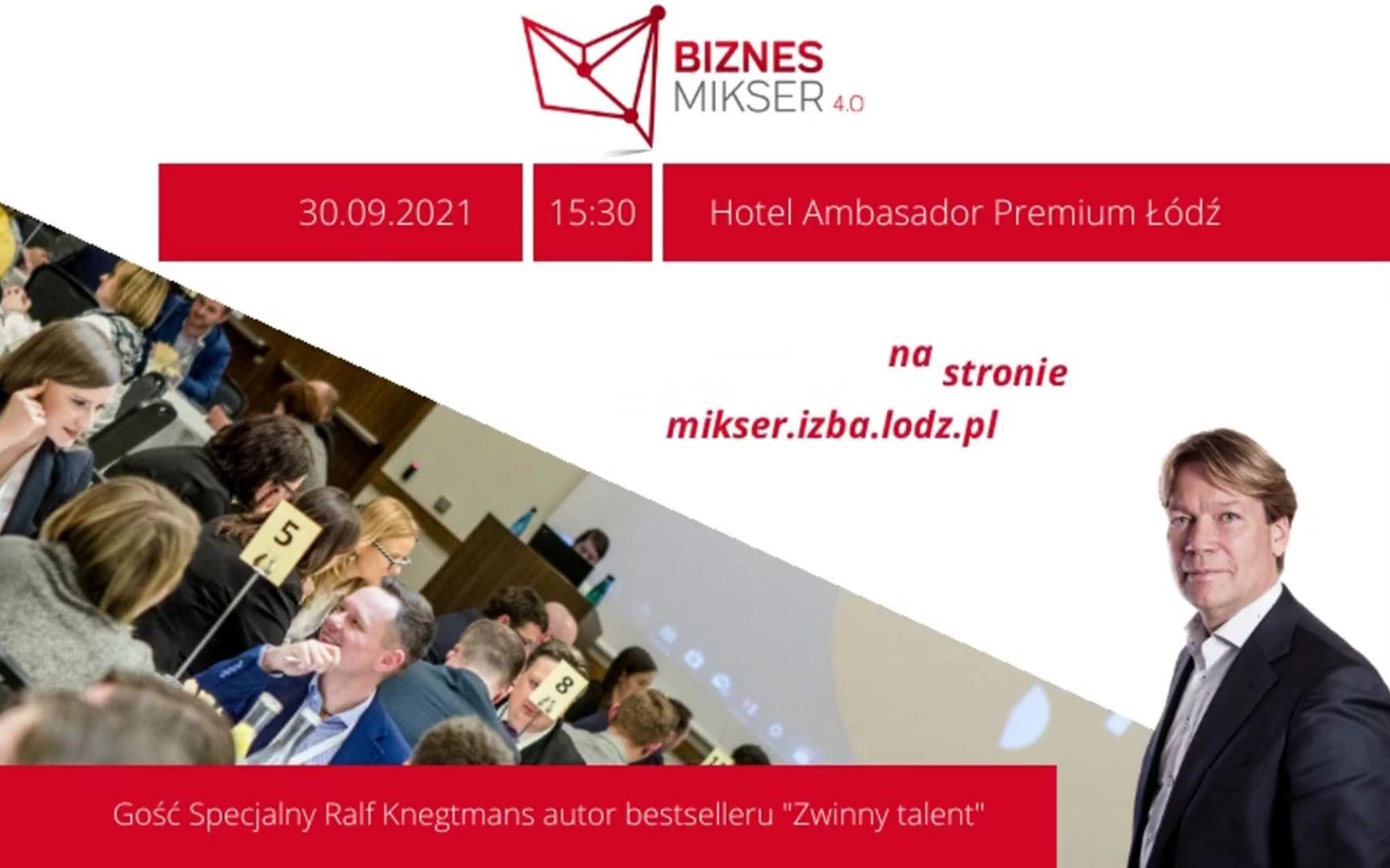 Biznes Mikser 4.0 w Łodzi, czyli jak zwinnie rekrutować talenty [wideo] - Zdjęcie główne