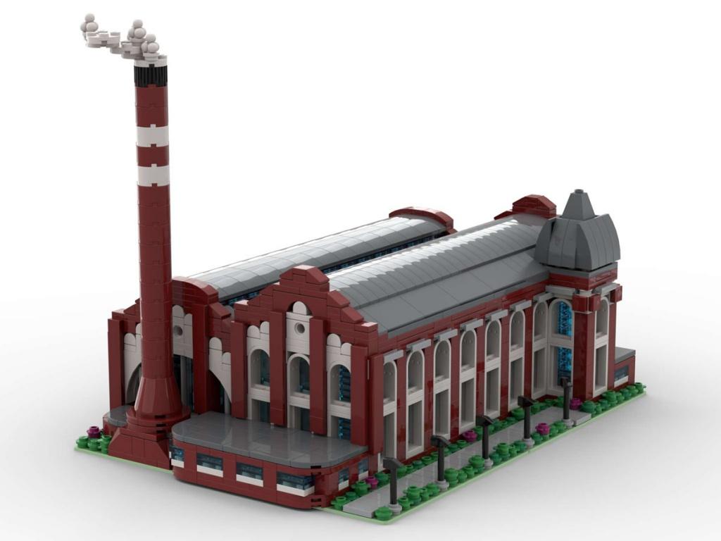 Tego jeszcze nie było. Elektrownia Scheiblera z klocków LEGO® może trafić do ogólnoświatowej sprzedaży! Głosujemy! - Zdjęcie główne